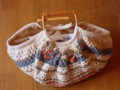 Crochet Tote Bag www.flickr.com