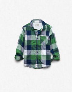 Checked shirt, Zara boys