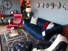 We loved designing this room! Fitterer's Furniture