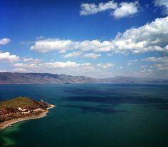 Lake Sevan, Armenia. Lake Sevan is the largest alpine high mountain freshwater lake in the Caucasus region and in Armenia Highland