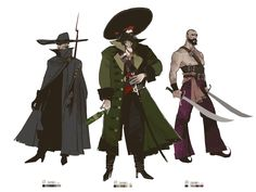 ArtStation - Pirate style sketches, Brian Matyas