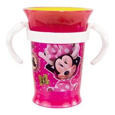 Amazon.com : Disney Minnie Mouse Grow Up Cup, Pink, 7 Ounce : Baby Drinkware : Baby