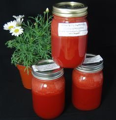 Canned Strawberry Lemonade Concentrate | This Lady's House Tastes like Summer!