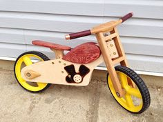 Project 69 - Wooden Balance Bike