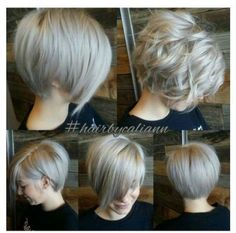 Silver blonde with lots of length