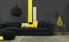 Amarillo & Negro muy de moda