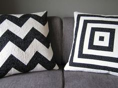 aqua and white? grey and yellow? I love the black and white but that might be too harsh in our bedroom.