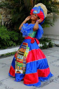 12 Haitian Designers You Should Know Haitian Flag, Haitian Art, Diy Carnival, Carnival Costumes, Carnival Fashion, Afro, Caribbean Culture, Black Power, Ethnic Fashion