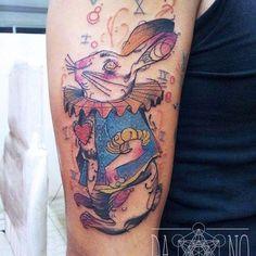 cool Alice in wonderland tattoos - http://4develop.com.ua/alice-in-wonderland-tattoos/ Check more at http://4develop.com.ua/alice-in-wonderland-tattoos/