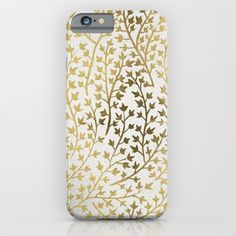 Gold Ivy iPhone & iPod Case