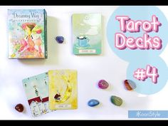 Hello Friends~ today I'd like to share with you my first impressions for the Dreaming Way Lenormand & my small quartz/crystals collection ♥.