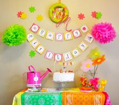 Spring Treat Table