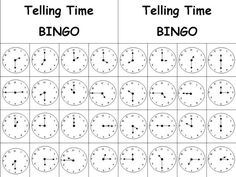 Telling Time BINGO powerpoint English Time, English Class, Teaching English, Teaching Kids, Kids Learning, Powerpoint Lesson, English Lessons For Kids, Phonics Worksheets, Online Tests
