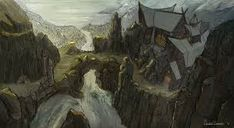 viking village concept art - Пошук Google