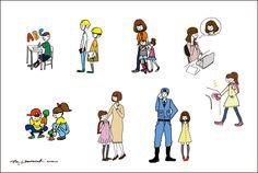 illustration for KIDS BASE CAMP >>http://www.kidsbasecamp.com/index.html