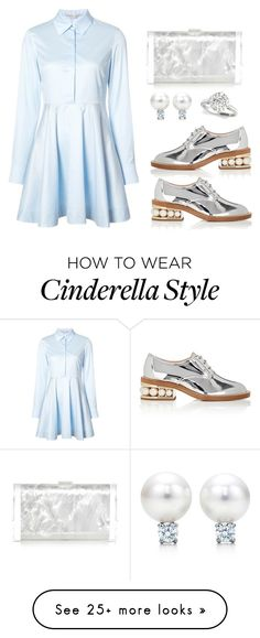 """""""Modern Cinderella"""" by claire394 on Polyvore featuring STELLA McCARTNEY, Nicholas Kirkwood, Edie Parker and modern"""