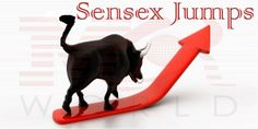 Sensex Jumps 150 Points HDFC, L&T Lead: Sun Pharma, HCL Tech, Cairn India, M&M, ONGC, Larsen & Toubro, Idea Cellular and Wipro among the top gainers on the Nifty. Power and metal stocks face the heat of selling pressure. BSE power index was down 0.4 per cent and metal index slipped 0.08 per cent.