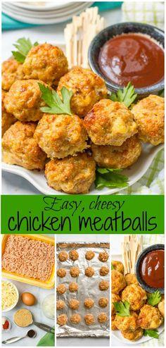 Cheesy chicken meatb