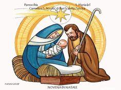 Christmas Graphics, Christmas Cards, Ladybug Rocks, Christmas Tattoo, Saint Esprit, Holy Family, Christmas Paintings, Religious Art, Christmas Printables