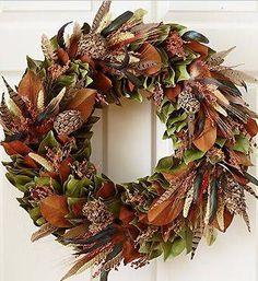Beautiful wreath...