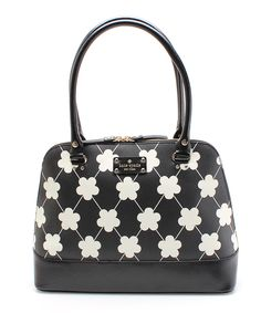 Look at this Black & White Rachelle Wellesley Tote on #zulily today!
