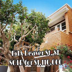 Corona Heights 2 Bedroom, 1 Bath Luxe Condo. Listed for $949,000.  Sold for $1,110,000! Represented Seller. For more information, contact me today: VIVIAN LEE Realtor Barbco Real Estate Group (415) 717.6308 Vivian@VivianLeeSF.com VivianLeeSF.com Lic. # 01342994