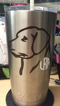 A personal favorite from my Etsy shop https://www.etsy.com/listing/262091515/lab-monogram-decal-duck-dog-decal