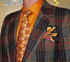 Colourful vintage tweed jacket, Horst shirt, vintage tie… #vintage #tweed #Horst #Toronto #WIWT #sartorial #sartorialsplendour #sprezzatura #dandy #dandystyle #dapper #dapperstyle #menswear #mensweardaily #menshoes #menstyle #mensfashion #fashion
