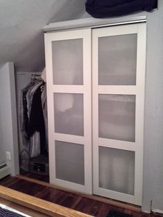 http://www.mobilehomerepairtips.com/closethardware.php has some maintenance tips that the DIY homeowner can make to one's closets.