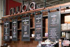 restaurant menu signage hanging - Google Search
