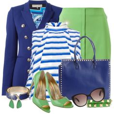Stripes by mada-malureanu on Polyvore featuring moda, Emilio Pucci, Akris, Valentino, Valextra, Jamie Joseph, Christian Dior, Walter Steiger, stripes and Dior