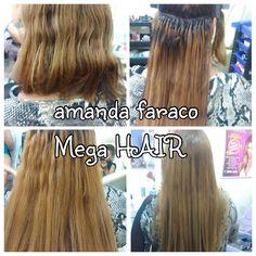 Mega hair nosso pacote 60 cm