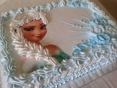 Little Mermaid Birthday Cake, Elsa Birthday Cake, Frozen Themed Birthday Party, Bolo Elsa, Bolo Rapunzel, Frozen Cupcake Cake, Elsa Torte, Disney Castle Cake, Elsa Cakes