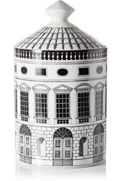 Fornasetti | Architettura Thyme, Lavender and Cedarwood scented candle, 300g | NET-A-PORTER.COM $175