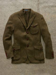 Tweed. Legalize It. Messenger Sport Coat   Ralph Lauren: