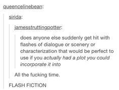 Flash Fiction.