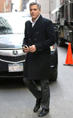 George Clooney from The Big Picture: Today's Hot Pics The actor appears in NYC, where he is filming the movie Money Monster.