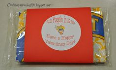 """Just poppin' in to say......  Valentines Popcorn """"treat"""""""