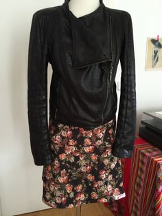 DIY Skirt with Roses by Mibaboku