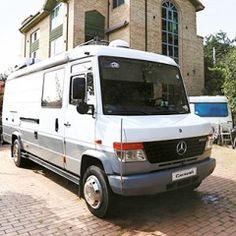 방송 장비차 Mercedes-Benz Vario 815D의 변신 : 매거진캐스트