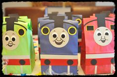 Thomas the Train Birthday Gift Sacks, James and Percy 2!