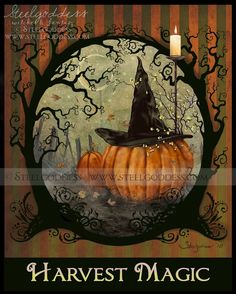 Harvest Magic print by steelgoddess, on Etsy.