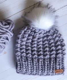 The stunning Hope beanie made for the Lilac Queen
