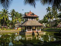 Hindu shrine at Kerala, India