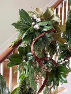 Magnolia and Pine Garland
