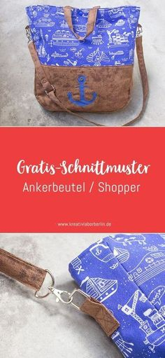 Kostenloses Schnittmuster Ankertasche 2019 Gratis-Schnittmuster: Maritimer Shopper The post Kostenloses Schnittmuster Ankertasche 2019 appeared first on Bag Diy. Chanel Couture, Coin Couture, Sewing Patterns Free, Free Sewing, Free Pattern, Pattern Sewing, Patchwork Pillow, Patchwork Bags, Pochette Diy