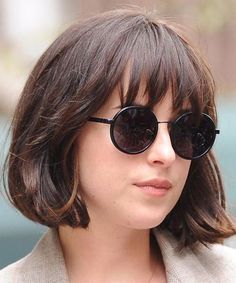 Most Beautiful Chin Length Bob Hairstyles 2018 with Bangs