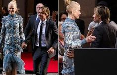 NICOLE Kidman takes a bow in Hollywood — and gets an ovation from fans. The Aussie actress, 49, almost let slip a little too much in her lacy dress as she attended the Australian Academy of Cinema …