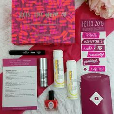 Birchbox January 2016 Beauty Sampling Subscription Box Review