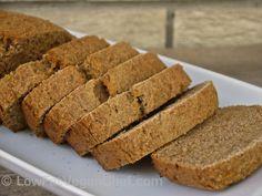 Fat Free Vegan Whole Wheat Banana Bread